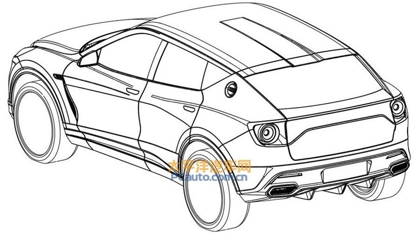 leaked lotus suv diagram photo: supplied