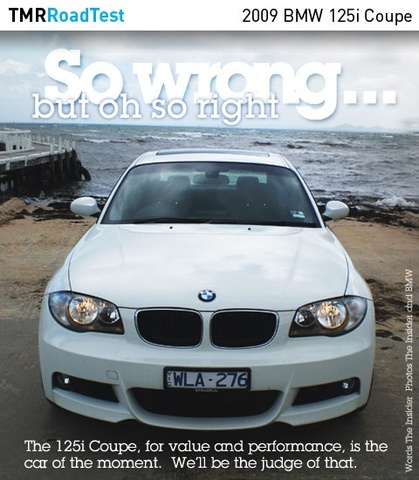0 BMW 125I
