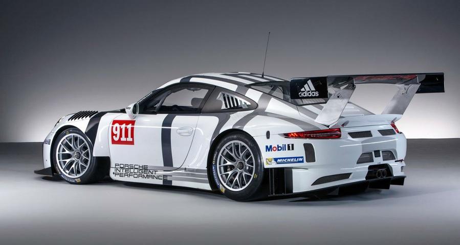 Porsche 911 Gt3 R 2016 Customer Race Car Unveiled