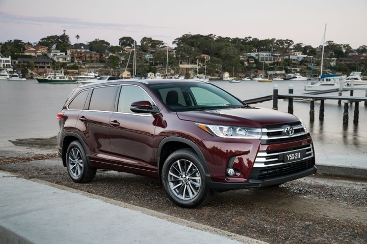 toyota kluger price  features  facelifted family suv  australia
