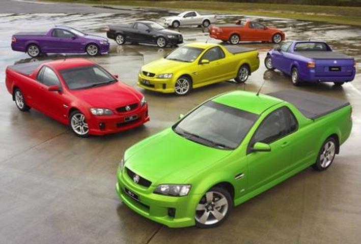 New Holden VE Ute Range