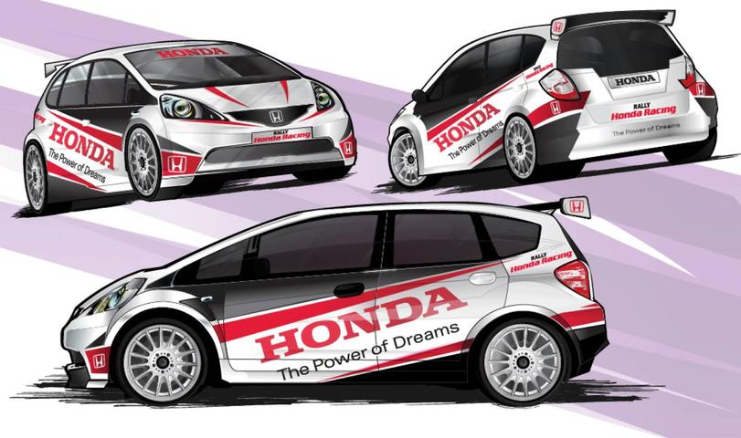 Honda Jazz G2 ARC Race Car Teased In New Artwork