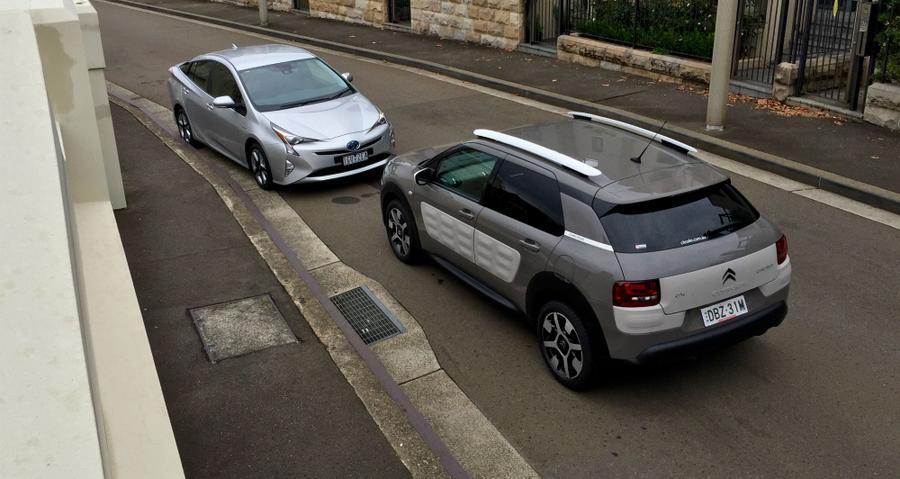2016 Citroen C4 Cactus v Toyota Prius REVIEW | Who Rules At The Bowser?