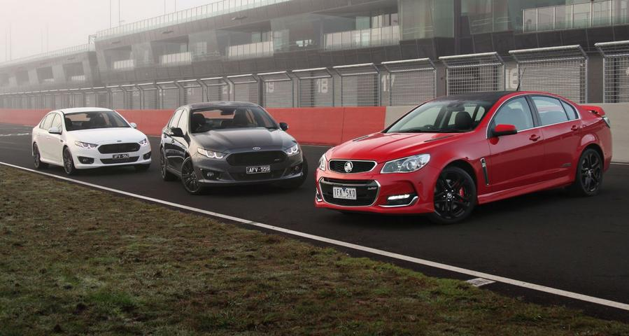 Falcon XR6 Sprint -v- Falcon XR8 Sprint -v- Commodore SS V