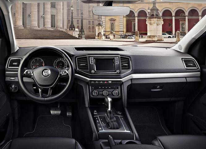 2017 Volkswagen Amarok Interior Given A Car-Like Redesign