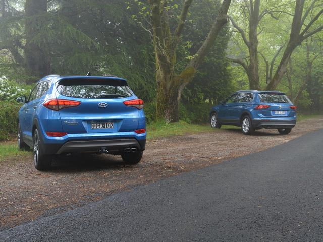 Family SUV Battle - Hyundai Tucson v Volkswagen Tiguan Comparison