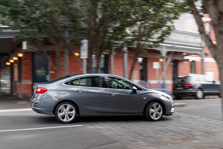 2017 Holden Astra Sedan First Drive Review   Quiet