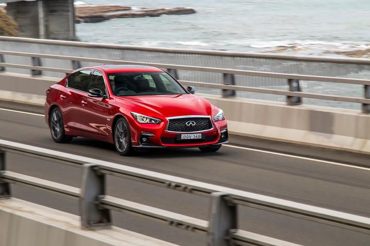 2018 Infiniti Q50 Red Sport First Drive | Breaks The Euro