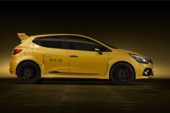 Renault Clio RS 16 Revealed - 201kW Widebody Clio For Renault