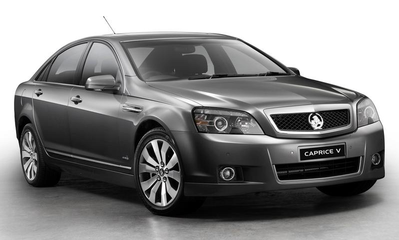 Holden WM Series II Caprice And Caprice V Revealed