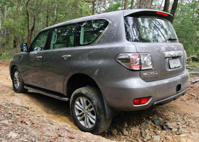 2012 Nissan Patrol Preview Drive