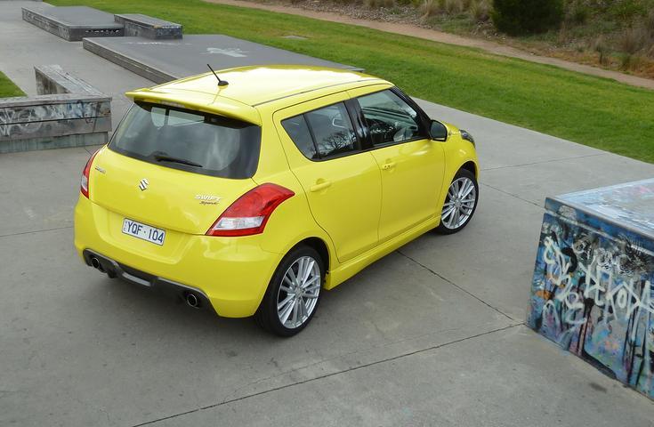 2012 Suzuki Swift Sport Automatic Review