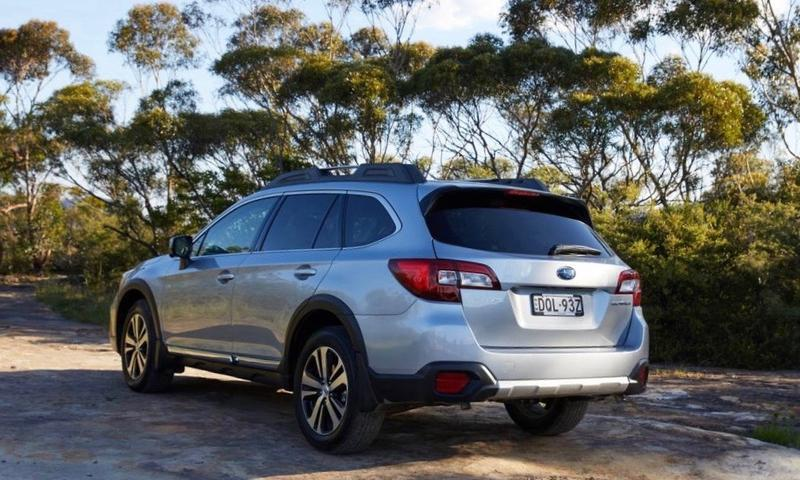 Subaru Outback 3 6R 2018 new car review