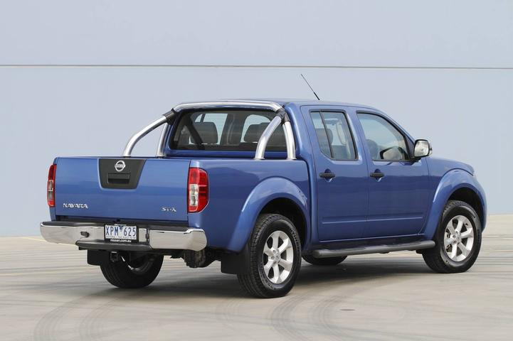 2010 Nissan Navara ST-X Now Available With Upgraded 2 5