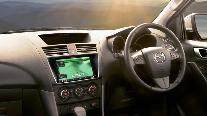 Mazda Updates 2017 BT-50 To Alpine Infotainment System