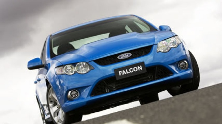 Ford FG Falcon: new 6-speed manual gearbox