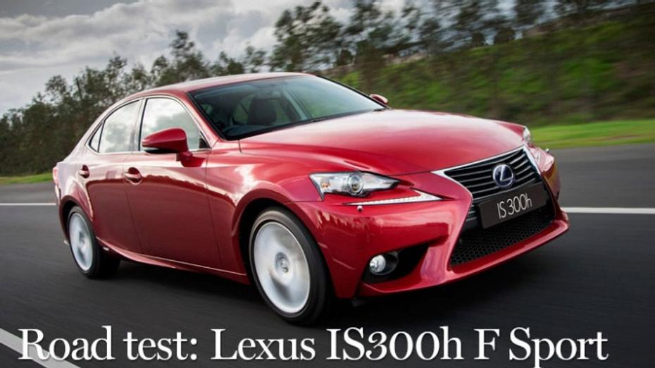Lexus IS300h F Sport new car review