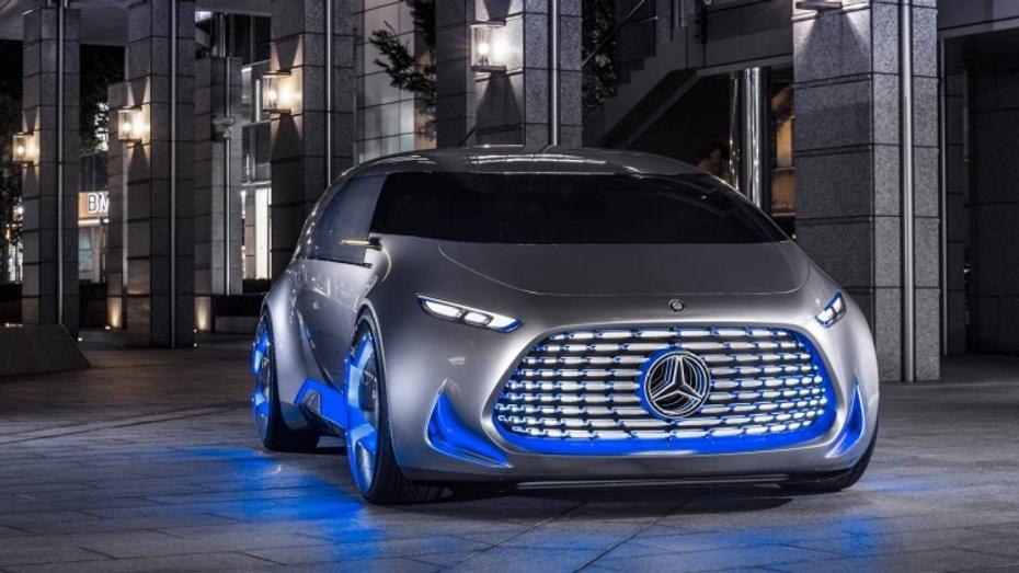 Mercedes-Benz unveils the van of the future