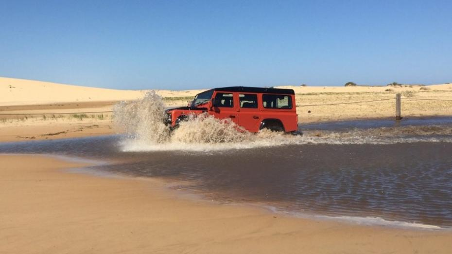 Land Rover Defender 110 Adventure quick spin