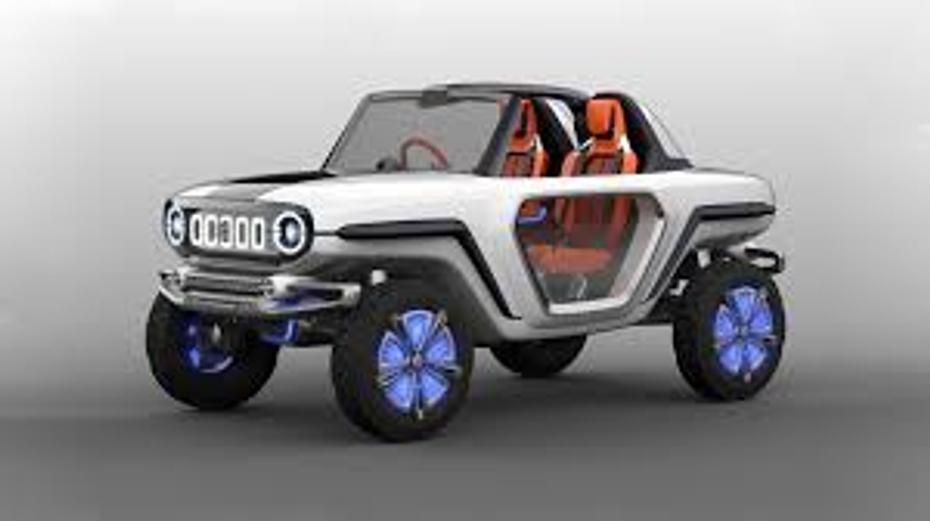 Suzuki's futuristic dune buggy revealed - Suzuki's