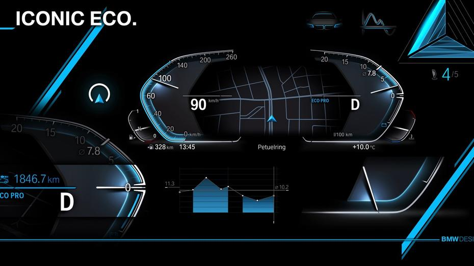 BMW reveals new digital cockpit - BMW reveals new digital