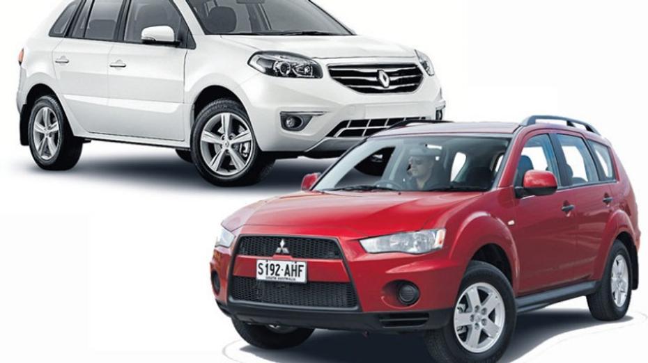 Head to head: Renault Koleos v Mitsubishi Outlander
