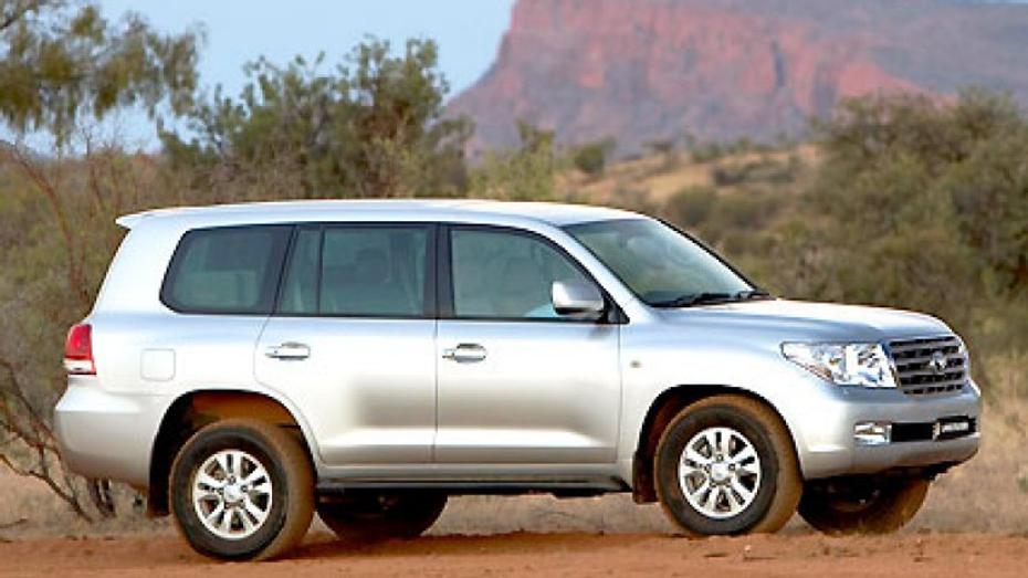 Toyota LandCruiser: GXL, VX, Sahara