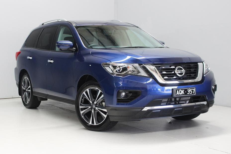 2018 Nissan Pathfinder Ti quick spin review - Quick Spin: Nissan
