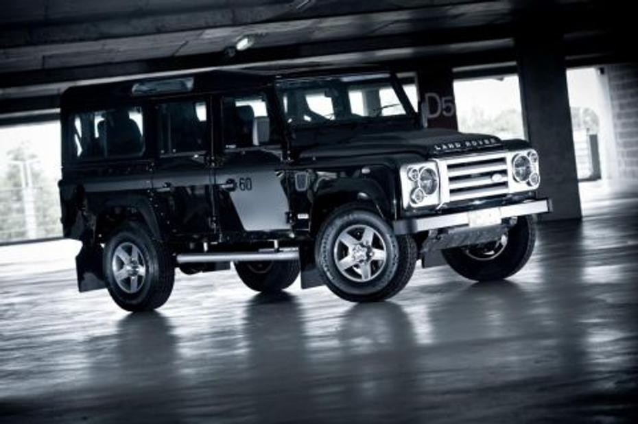 2009 Defender 110 60th Anniversary SVX Limited Edition
