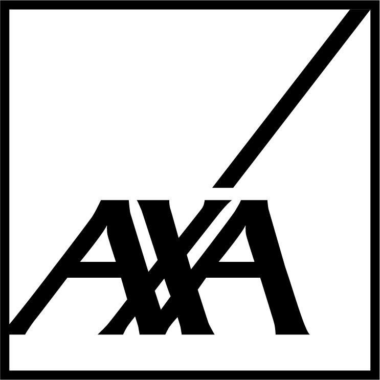 AXA Logo black