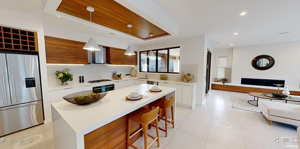 display home online tour double storey home