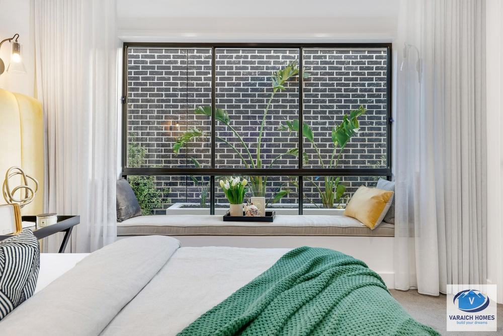 window seat in display home donnybrook
