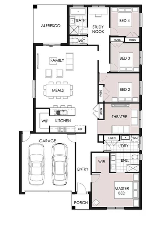 25sq single storey home