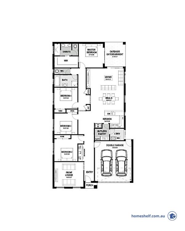 14m frontage Isabel home design Melbourne builder