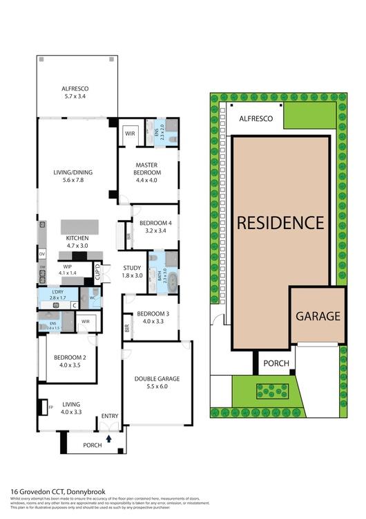 display home floorplan donnybrook