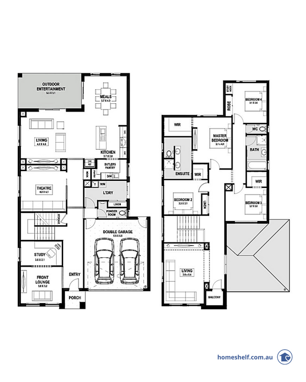 Alexis double storey design by True Value Homes