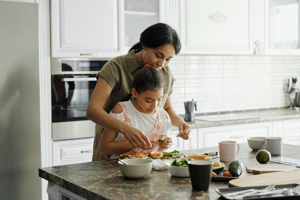cooking with kids - designing the perfect kitchen layout