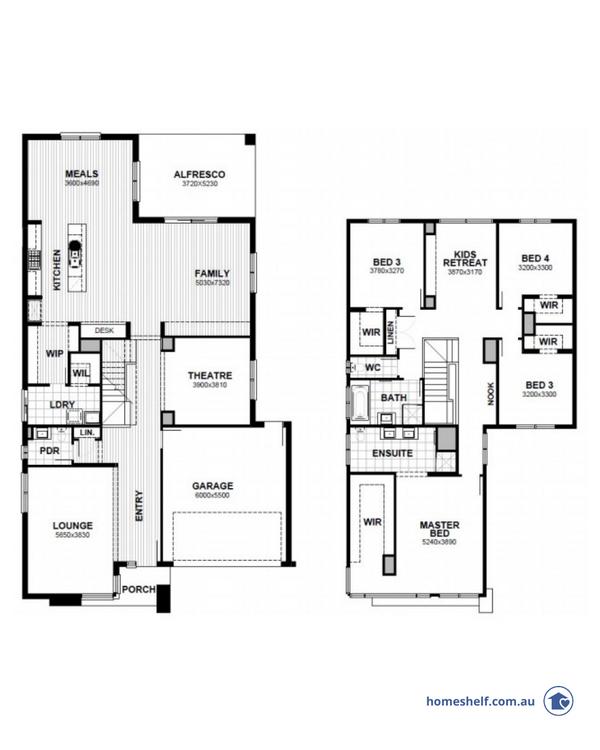 14m frontage Manhattan home design Melbourne builder