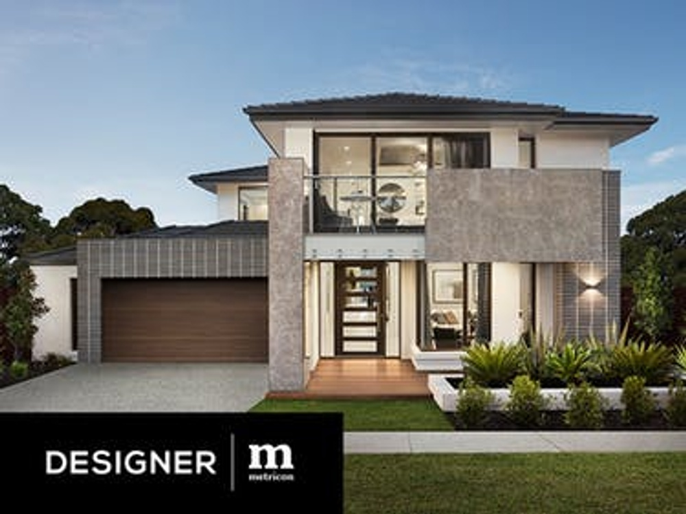 designer range by metricon