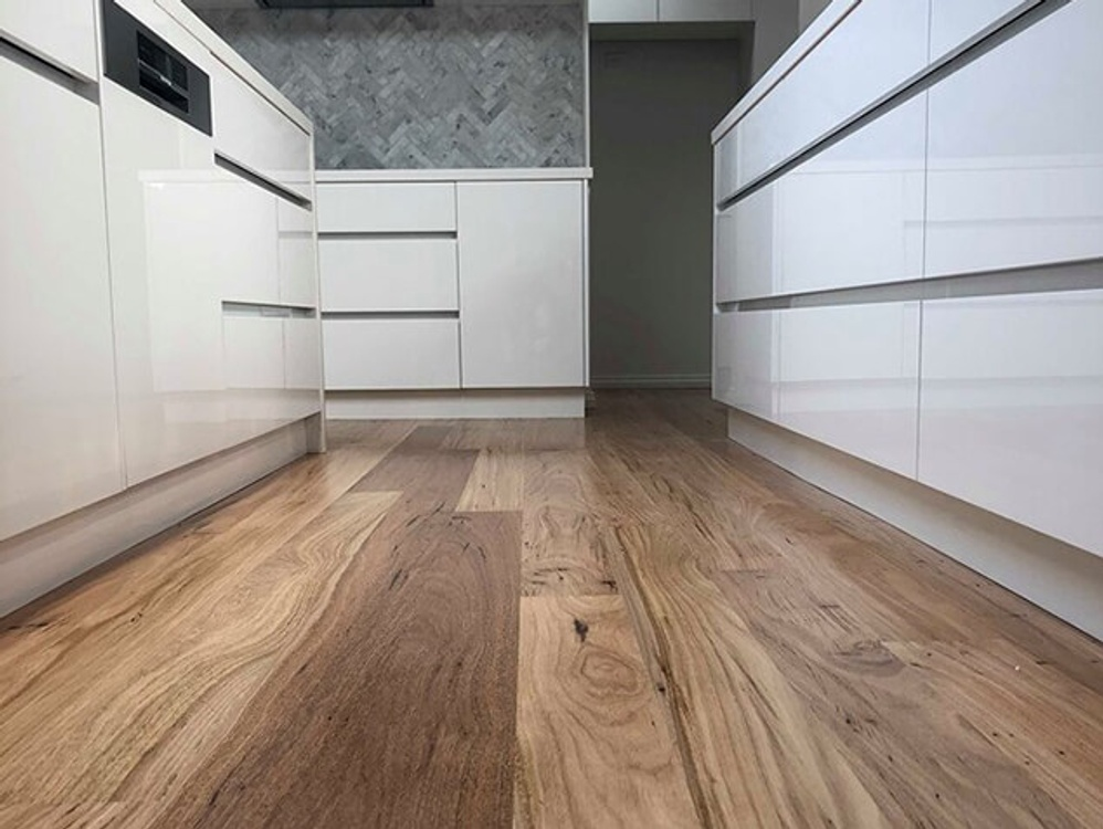 Solid timber flooring Silvertop Stringy from Nationwide Timber