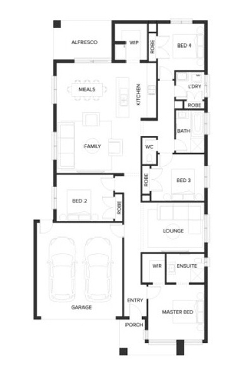 Newport floor plan