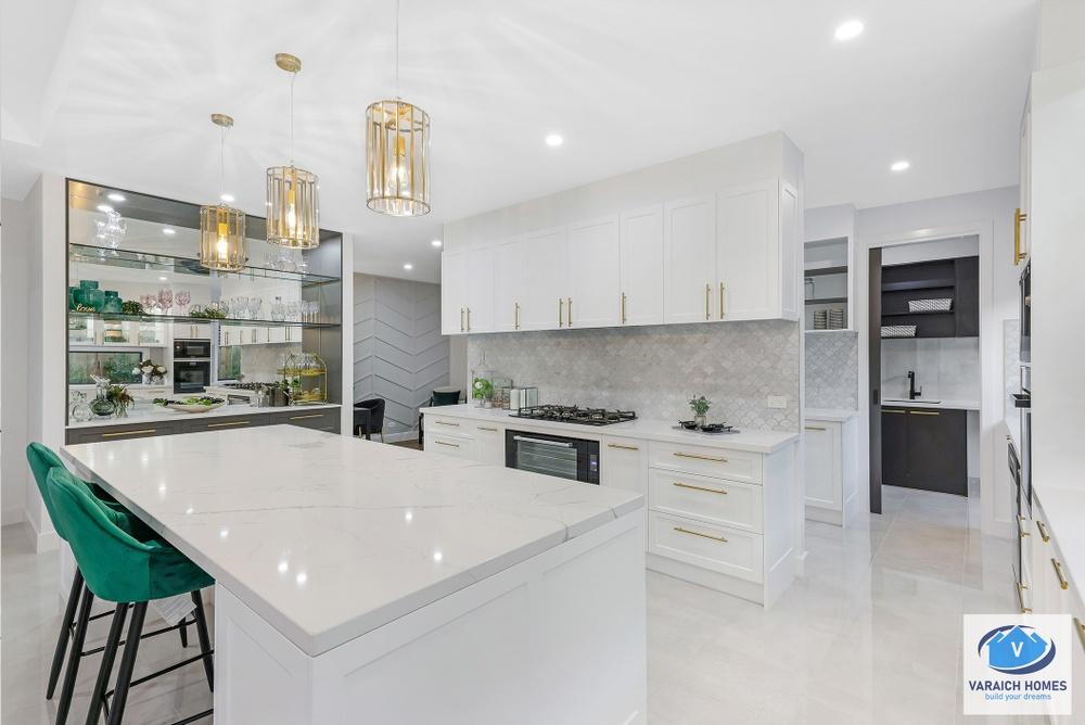kitchen of display home in donnybrook