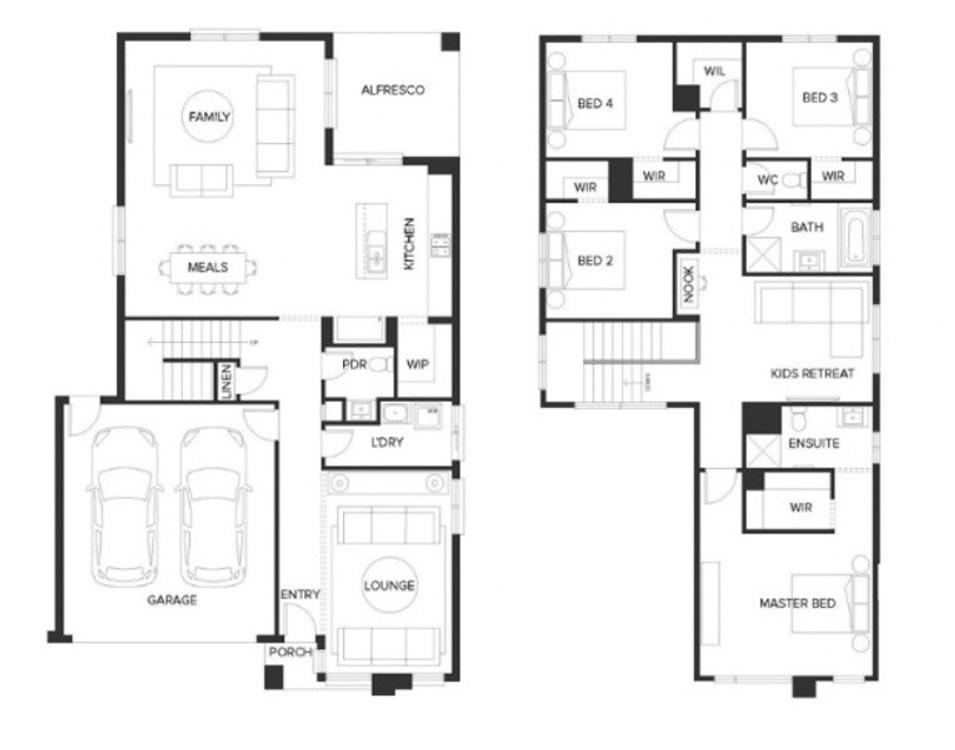 Baltimore floor plan