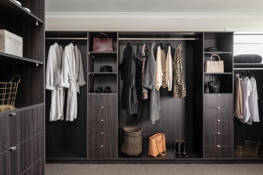 Henley wardrobe organising
