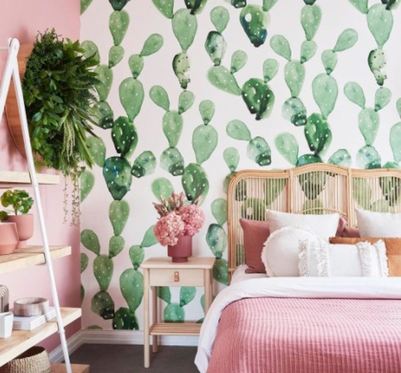 Example of Grandmillenial style, shabby chic done right by Liberty Interiors
