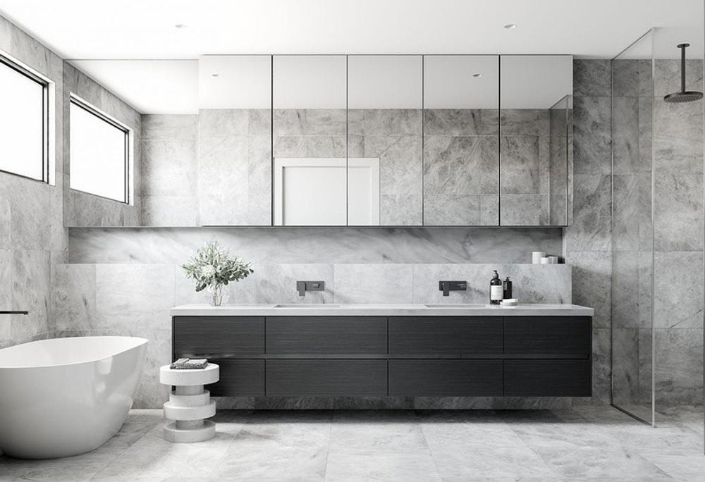 designing your bathroom Lentini Homes