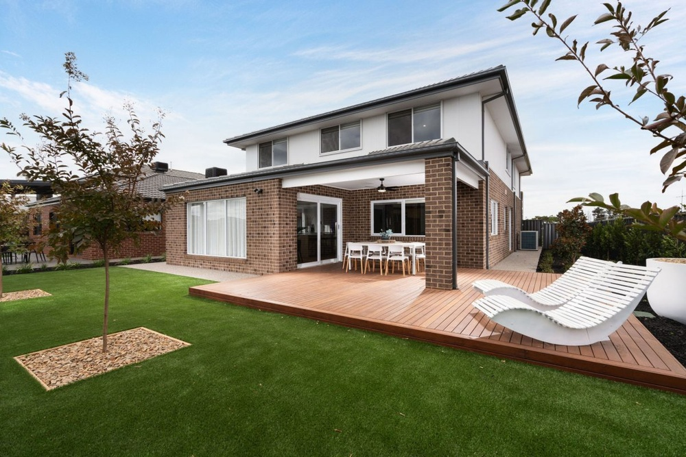 Bentley Homes display home in Truganina