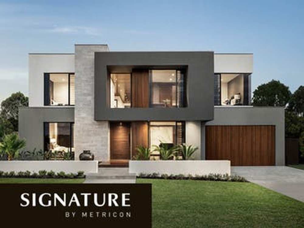 signature range by metricon