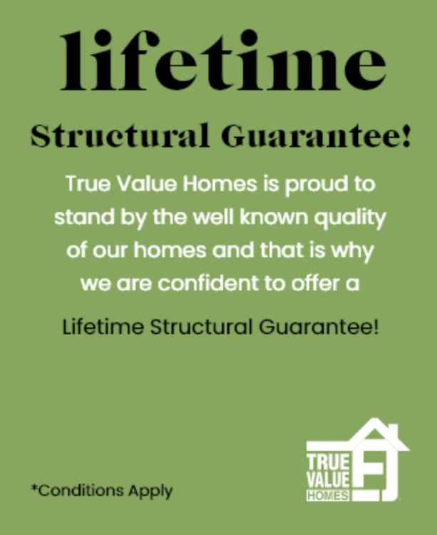 true value homes lifetime structural guarentee
