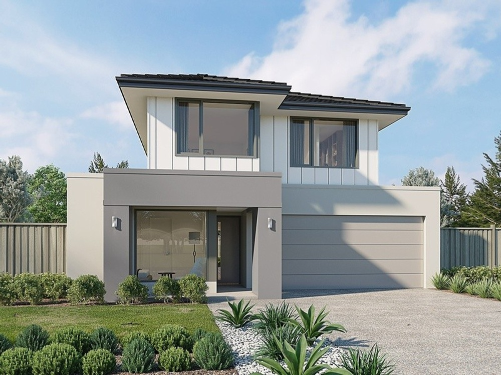 newport by sherridon homes on display at newhaven tarneit
